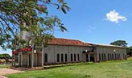 Santa Mônica - Igreja Matriz de Santa Mônica-Foto:Ricardo Mercadante