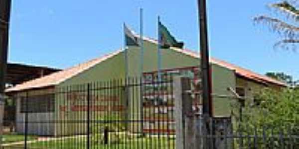 Biblioteca Municipal Antônia Cavazani Moreno em Santa Mônica-Foto:Ricardo Mercadante