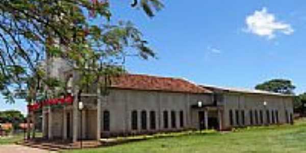 Igreja Matriz de Santa Mônica-Foto:Ricardo Mercadante