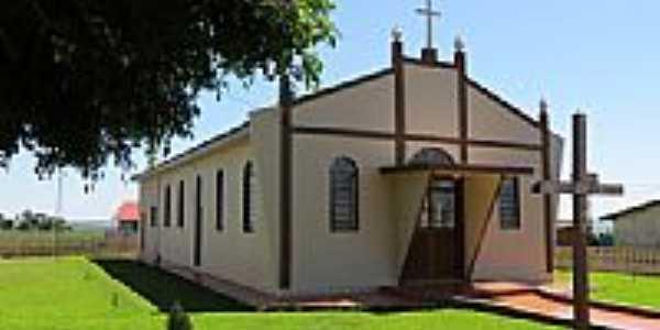 Capela na Comunidade Santa Rita-Foto:Ricardo Mercadante