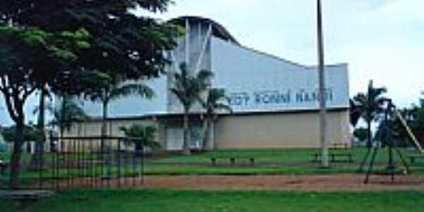 Santa Terezinha de Itaipú-PR-Centro Esportivo Edy Nandi-Foto:Pfahl