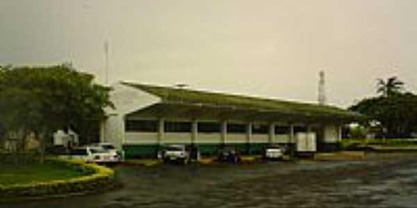 Santa Terezinha de Itaipú-PR-Terminal Rodoviário-Foto:Pfahl