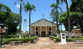 Santo Antônio do Caiuá - Praça e Igreja de Santo Antônio em Santo Antônio do Caiuá-Foto:José Miguel dos Sant…