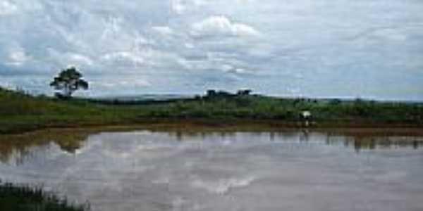 Represa de Cará na Fazenda Josana em Santo Antônio do Palmital-Foto:pellegrini32