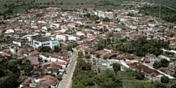 Vista aérea de Inhambupe-Foto:jronaldoleite.