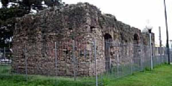 Ruínas da não concluida Igreja de São Francisco de Paula-Foto:BEDENE