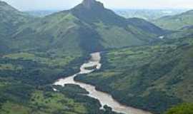 São Jerônimo da Serra - Pico Agudo, ao lado rio Tibagi.Foto Robson