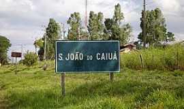 São João do Caiuá - São João do Caiuá-PR-Placa indicativa-Foto:saojoaocaiua.blogspot.