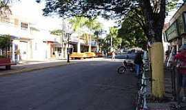São João do Caiuá - São João do Caiuá-PR-Rua central-Foto:saojoaocaiua.blogspot.