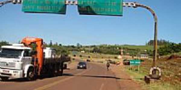 Trevo para Marumbi em São José-Foto:marqueal