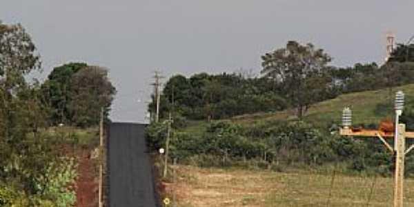 São José do Itavo-PR-Vista da Rodovia-Foto:itaipulandia.pr.gov.br