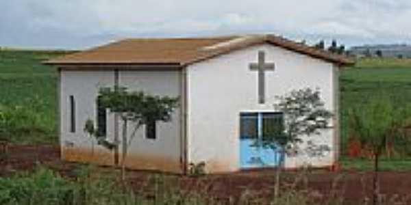 Capela na estrada rural de São Judas Tadeu-PR-Foto:Ricardo Mercadante
