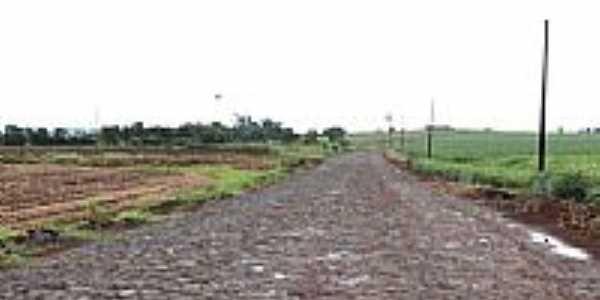Estrada rural de São Judas Tadeu-PR-Foto:Ricardo Mercadante