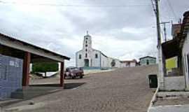 Inúbia - Inúbia-BA-Praça e Igreja Matriz-Foto:Edson Souza