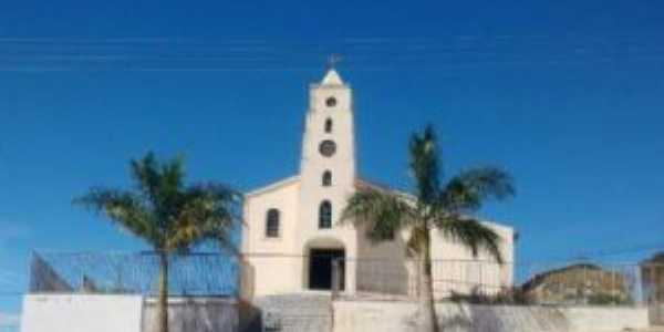 Igreja matriz de Santo Antonio - chapadaemdestaque.com - Por Rubens  Silva