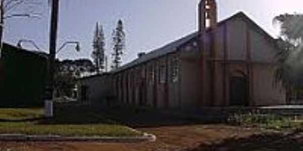 Igreja Católica no Distrito de São Luiz-Foto:ROBERTO TOMÉ 2
