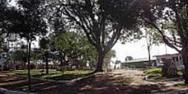 Praça no Distrito de São Luiz-Foto:ROBERTO TOMÉ 2