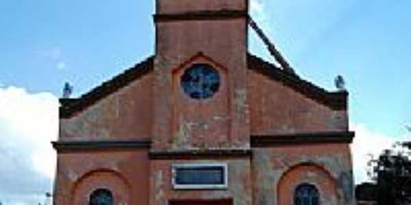 Igreja Matriz em São Luiz do Purunã-PR-Foto:Moacir P Cruz de Gu…