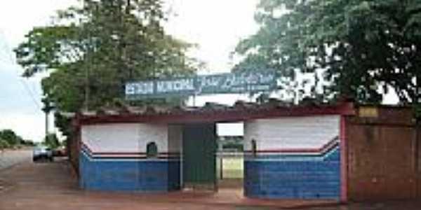 Estádio Municipal em São Manoel do Paraná-Foto:Lineu Santos