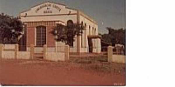 Igreja da Congregação Cristã do Brasil em São Manoel do Paraná-Foto:Congregação Cristã.NET