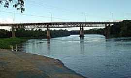 São Mateus do Sul - Ponte sobre o Rio Iguaçu por Claudio S. A.