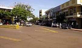 S�o Miguel do Igua�u - Rua Medianeira em S�o Miguel do Igua�u-Foto:leuuuuu