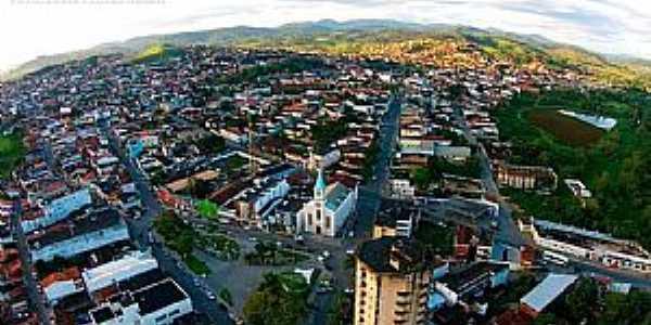 Ipiaú-BA-Vista da cidade-Foto:Prefeitura de Ipiaú-Facebook