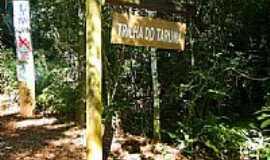 S�o Pedro do Igua�u - Entrada da Trilha Tarum� na Reserva Florestal Cabe�a de Cachorro em S�o Pedro do Igua�u-PR-Foto:Ricardo Mercadante