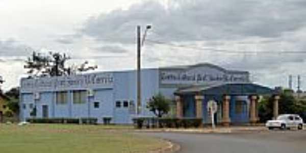 Centro Cultural em São Pedro do Iguaçu -PR-Foto:Ricardo Mercadante
