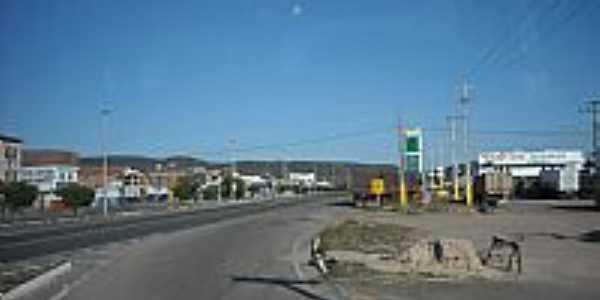 Rodovia BR-052 em Ipirá-BA-Foto:magalhães jaime