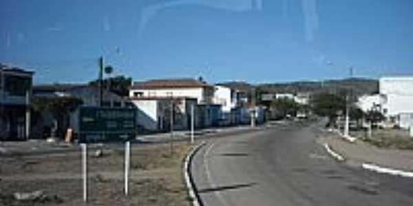 Trevo de acesso de Ipir�-BA-Foto:magalh�es jaime