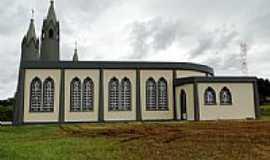 São Roque - Lateral da Igreja no Distrito de São Roque-Foto:Ricardo Mercadante