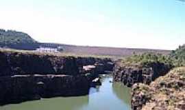 Saudade do Iguaçu - Usina Salto Santiago em Saudade do Iguaçu-PR-Foto:Felipe Oliva