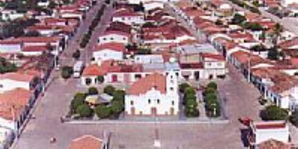 Vista aérea do centro de Ipupiara-BA-Foto:eriveltoncosta