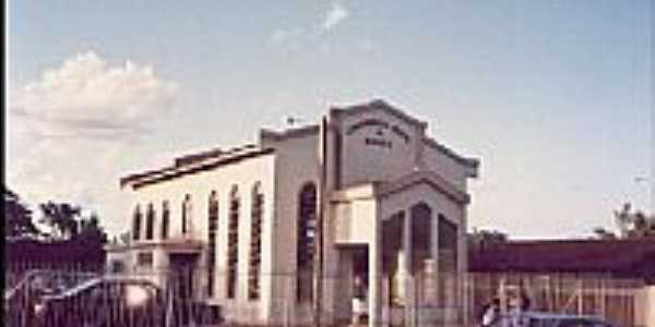 Igreja da Congregação Cristã do Brasil em Serra dos Dourados-Foto:Congregação Cristã.NET