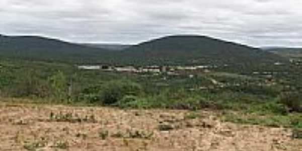 Vista da cidade e do Rio Preguiça em Irajuba-BA-Foto:EMILENE