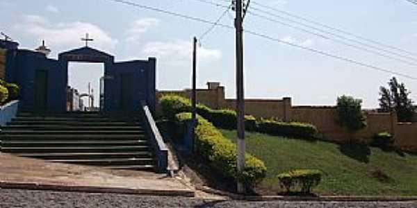 Siqueira Campos-PR-Entrada do Cemitério Municipal-Foto:gianemelo