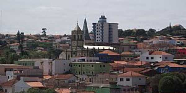 Siqueira Campos-PR-Vista da área central da cidade-Foto:gianemelo