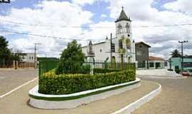Iramaia - Iramaia-BA-Praça e Matriz de Santo Antônio-Foto:UPB