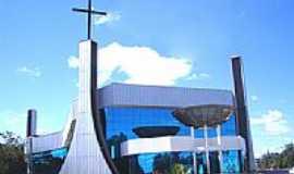 Tel�maco Borba - Igreja Matriz de N.S. de F�tima foto Vicente A. Queiroz