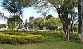 Telêmaco Borba - Jardins da Praça Castelo Branco