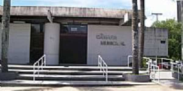 Câmara Municipal de Telêmaco Borges-Foto:Aparecido Ferraz