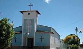 Iraquara - Igreja de N.Sra.do Livramento em Iraquara-BA-Foto:Dani Gama