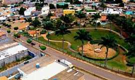Iraquara - Iraquara-BA-Vista aérea do centro da cidade-Foto:Facebook