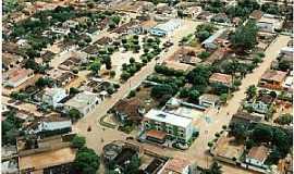 Iraquara - Iraquara-BA-Vista aérea parcial da cidade-Foto:Facebook