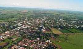 Terra Roxa - Vista aérea da cidade por Milton Fantucci