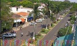 Terra Roxa - Terra Rocha-PR-Vista aérea da Avenida central-Foto:terraricanoticias.