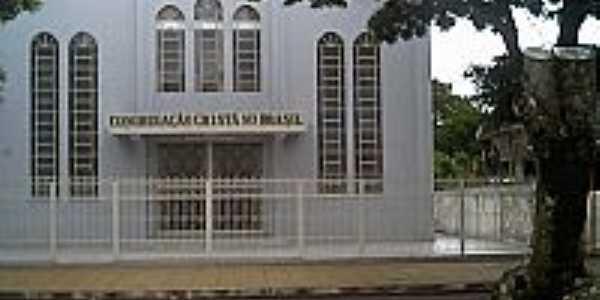 Igreja da Congregação Cristã do Brasil em Terra Roxa-Foto:Congregação Cristã.NET