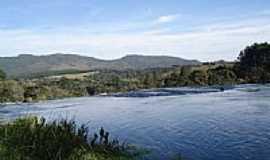 Tijucas do Sul - Vista na Cachoeira de Saltinho - , por Dirceu Heeren