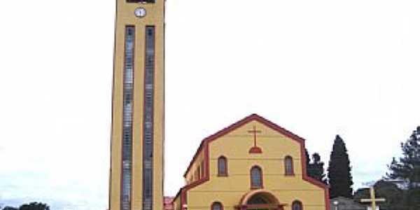 Tijucas do Sul-PR-Matriz de N.Sra.das Dores-Foto:Vicente A. Queiroz